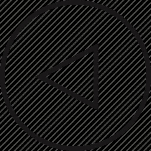arrow, arrows, nav, navs, previous icon