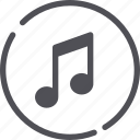 music, music button, playlist, song icon
