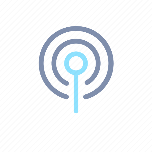 broadcast, media, multimedia, player, podcast icon