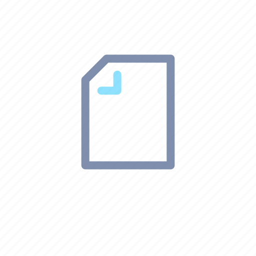 document, file, media, player icon