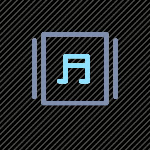 album, audio, media, music, player, songs, sound icon