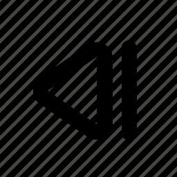 audio, back, backward, last frame, music, slowmotion, song icon