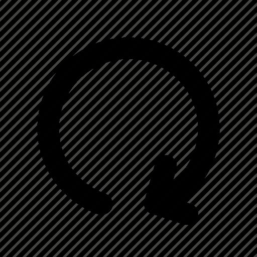 loop, looping, refresh, reload, repeat icon