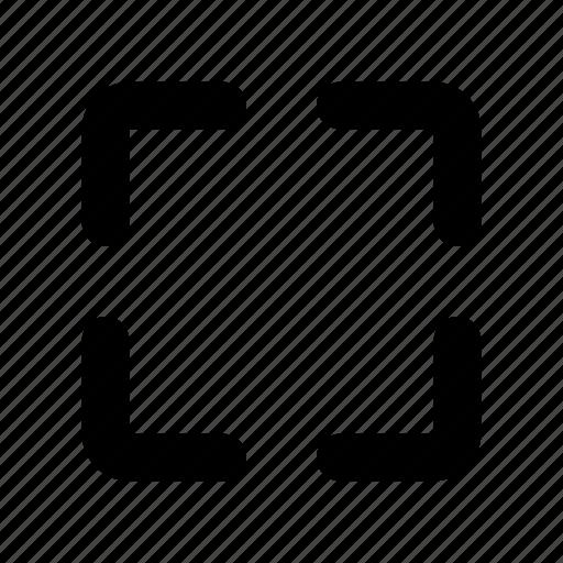 expand, fullscreen, maximize, screen, small, window icon