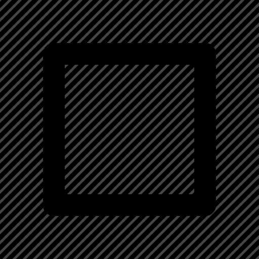 audio, button, media, stop, track icon