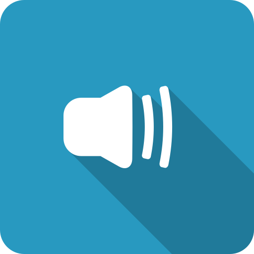 adjust, blue, half, medium, shadow, speaker, volume icon