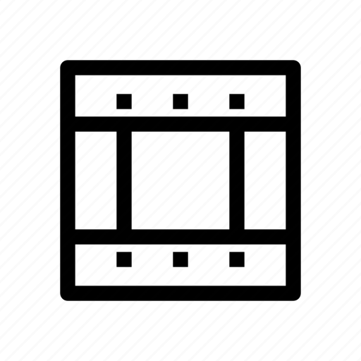 file, format, media, movie, video icon