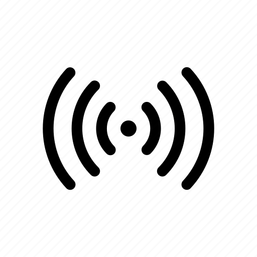 antenna, network, signal, waves, wifi icon