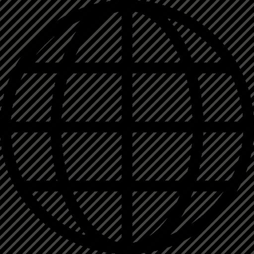 browser, global, globe, international, internet, world icon