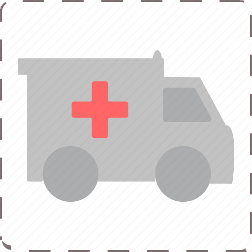 emergency, medic transport, van, vehicle icon