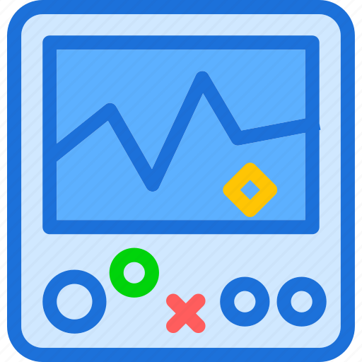 display, life, monitor, stats, test icon