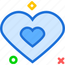 heart, lovedouble, organ icon