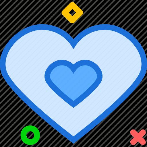 heart, lovedouble, organ icon
