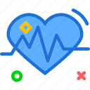display, ekgmonitor, heart, heartbeat, lovesignal, organ, stats icon