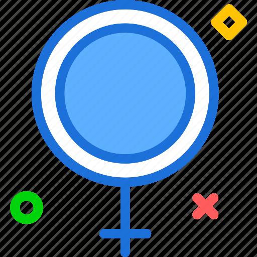 female, health, medical, sign icon