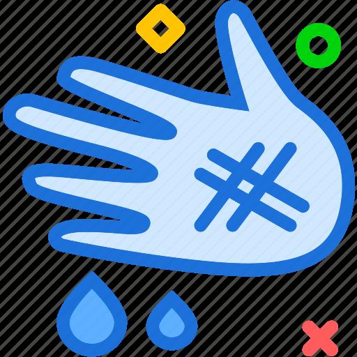 hand, health, injury, medical icon