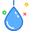 blood, droplet, plain icon