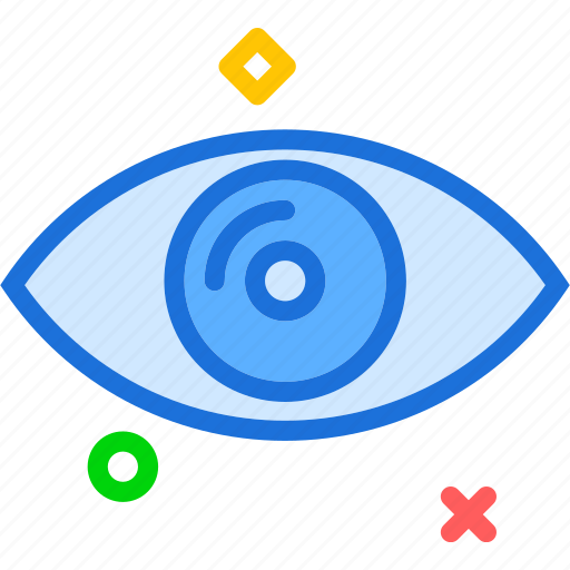 health, humaneye, medical icon