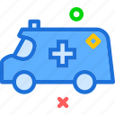 alarm, ambulance, noise icon