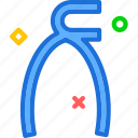 adjustable, pliers, surgery, tool icon