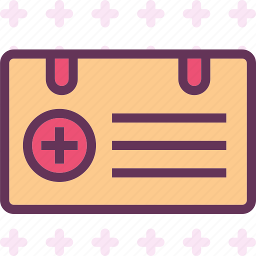 card, doctor, health, id, medical, personal icon