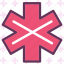 cross, health, intersection, medical, meds, pharmacy icon