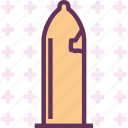 condom, male, masculin, organ, penis, reproduction, shield icon