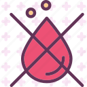 blood, cross, drop icon