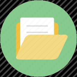 folder, hospital data, hospital documents, hospital record, medical folder icon
