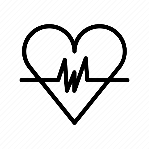 heart, hospital, medical, medicine, pull icon