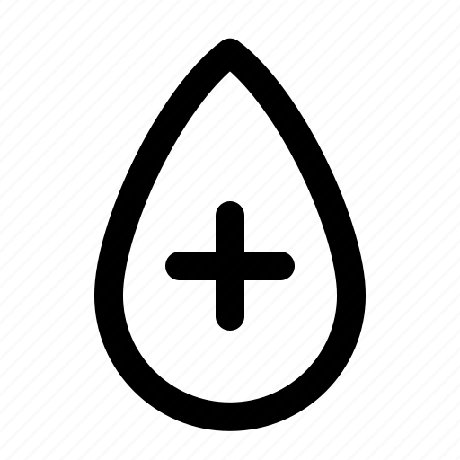 Medical, add, health, blood, donor, acceptor icon