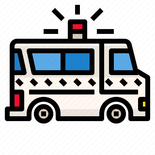 ambulance, car, emergency, rescue, transportation icon