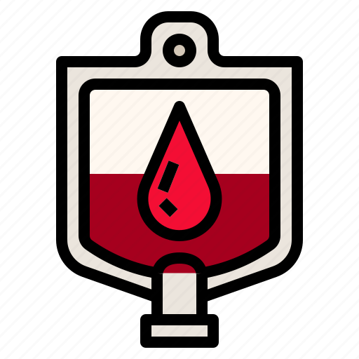 blood, drop, medical, medicine, red icon