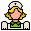 healthcare, hospital, nurse, people, woman icon