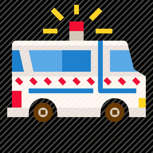 Ambulance, car, emergency, rescue, transportation icon - Download on Iconfinder