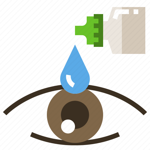 Medicine, drops, eye, liquid, care icon - Download