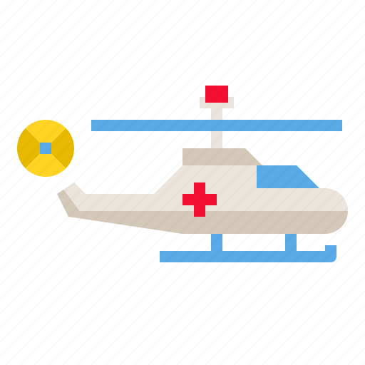 Fly, helicopter, aircraft, rescue, transport icon