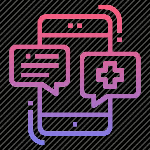 call, center, medical, service icon