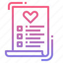 health, healthcare, record, report icon