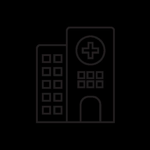 clinic, health, hospital, medicine, pharmacy, treatment icon