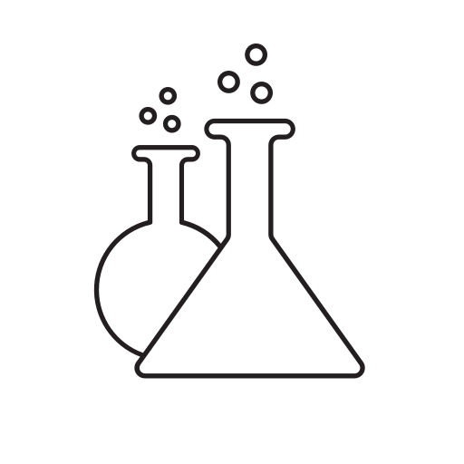 balloon, erlenmeyer, experiment, flask, laboratory, medicine, tests icon