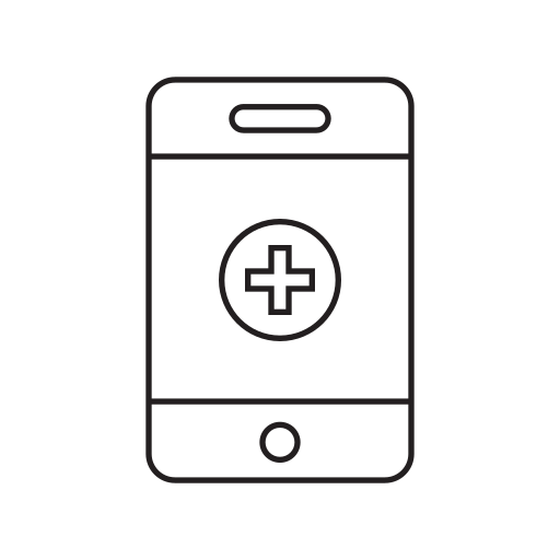 health, healthcare, medicine, mobile, online icon