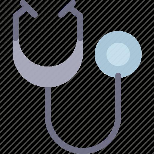 analyze, control, medical, stetoscope icon