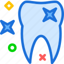 dentist, doctor, medic, stars, tooth icon