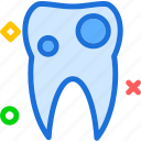 cavity, dentist, doctor, medic, tooth icon