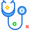 analyze, control, medical, stetoscope icon