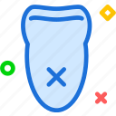 cancel, dentist, doctor, medic, tooth icon