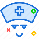 assistent, avatar, doctor, medic, nurse icon