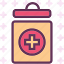 health, jar, medical, meds, treatment icon
