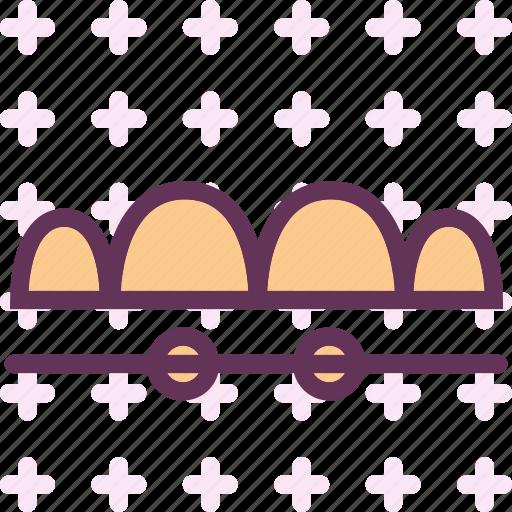 retainer, teeth icon